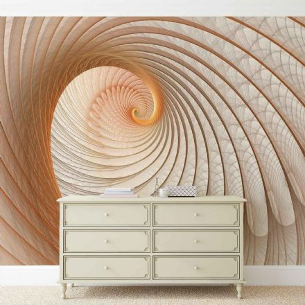 Giant non-woven wallpaper murals  Abstract Swirl I